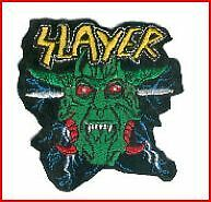 SLAYER PATCH BRODE - EMBROIDERED PATCH
