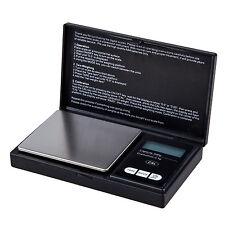 Digital Pocket Scale 500 Gram X 0.1 gram for lab chemicals black Y6D4