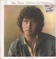 Mac Davis(Vinyl LP)I Believe In Music-Columbia-PC 30926-US-NM/M