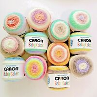 12 COLORS *NEW Caron® Baby Cakes™ Yarn Knitting Croche 3.5oz, 231yds
