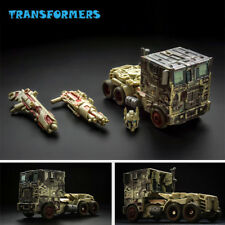 Transformers Battle Damage Optimus Prime Flat-face Convoy Car Deformation Toy