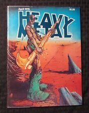 1978 HEAVY METAL Magazine v.1 #13 VF Richard Corben Moebius