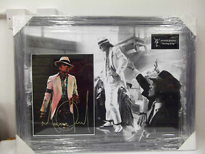 Rare Signed Michael Jackson Thriller Album Framed COA Authenticated