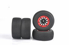 4X Bead-Lock 1:10 Short Course Truck Tires&Wheel For HPI TRAXXAS Slash RC Car 01
