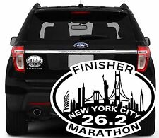 2017 Or Any year Nyc New York City MarathonFinisher Decal Magnet Sticker Nyrr