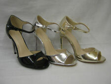 Special Occasion Stiletto Wet look, Shiny Heels for Women