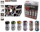 Dadi ruota EPMAN Racing Tuning 6 colori Alluminio T6 Tuning drift 45mm antifurto