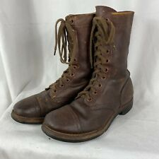 Original 1947 US Army Paratrooper Jump Boots Size 7.5