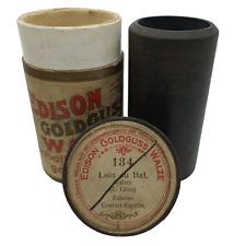 "Edison Goldguss Walze Nr.:134 ""Loin du Bal"" Walzer 1904"
