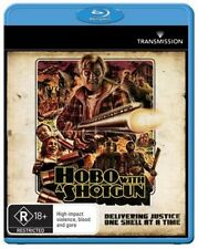 *BRAND NEW & SEALED* Hobo With A Shotgun (Blu-ray Movie R18+ 2011) Rutger Hauer