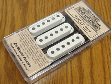 NEW USA Rio Grande Halfbreed Strat PICKUP SET White for Fender Stratocaster