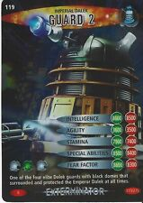 Doctor Who Battles In Time Exterminator Rare Card 119 Imperial Dalek Guard 2