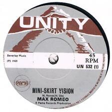 MAX ROMEO Mini skirt vision / Far far away Unity UN 532 classic reggae tune