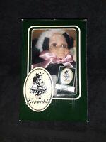 """Geppeddo Cuddle Kids """"Page Panda"""" Porcelain Face Plush Animal Doll NIB"""
