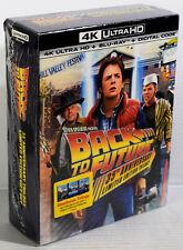 NEW Back to the Future Trilogy STEELBOOK (4K Ultra HD, Blu-ray, Digital Code)