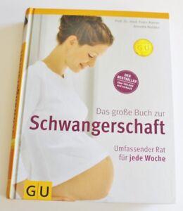 ♥ GU Das größe Buch zur Schwangerschaft umfassender Rat für jede Woche /Kainer ♥