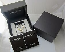 MEN'S RAYMOND WEIL GENEVE TWO-TONE WATCH *NEW OTHER* W/ BOX & INSTRUCTIONS #5599