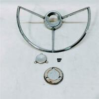 1964 OEM Original Ford Fairlane Chrome Steering Wheel Horn Ring C40A-13A800-A
