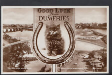 Scotland Postcard - Good Luck From Dumfries   RS 5749
