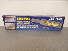New In Box Cen-Tech Hand Held Hand Wand Metal Detector Wand No. 94138
