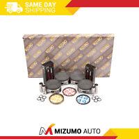 Full Gasket Set Pistons Bearings Fit 04-06 Subaru TURBO DOHC EJ255 EJ257