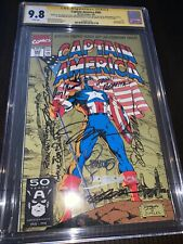 Captain America 383 cgc ss 10x 9.8 Joe Simon, Steranko, Romita Sr, Sinnott