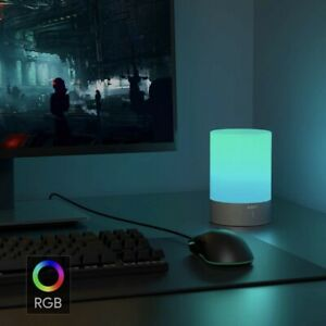 RGB Color Touch Changing Soft Light. Cordless Rechargeable Warm White And Color