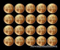 1990 1991 1992 1993 1994 1995 1996 1997 1998 1999 P+D Lincoln Mint Set Roll
