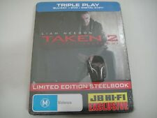 Taken 2 (2012) - JB Hi-Fi Limited Steelbook Blu-Ray/DVD Region B/A/4 | New