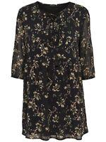 36/25 NEU ONLY Damen Sommer Kleid onlMADELYN KEEN ON FLOWER 3/4 DRESS WVN Gr. 38