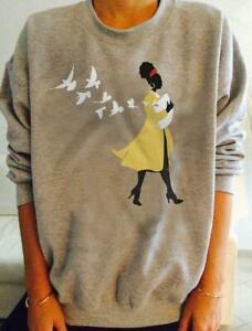 Amanda Gorman Inaugural Poet Sweatshirt Sport Grey