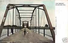 PUGWASH NOVA SCOTIA CANADA THE BRIDGE  POSTCARD c1910s