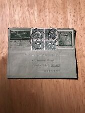 STAMPS - AIR MAIL LETTER PAKISTAN TO LONDON UK