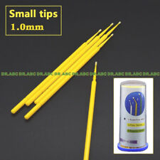 Touch Up Paint Micro Brush - 100 Brushes - Small Tip 1.0mm - Micro Applicators
