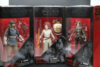 Star Wars The Black Series BUNDLE Rey (Jakku) w/ BB-8, Jyn Erso, & Cassian Andor