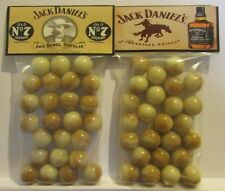 2 Bags Of Jack Daniels Old # 7 Whiskey Promo Marbles