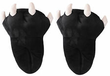 Unisex Cool Animal Dinosaur Claw Paw Slippers Plush Warm Slippers