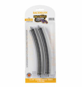 """Bachmann EZ-Track ~ 12.50"""" Radius Curved Track ~ N Scale ~ 6 Pieces ~ 44852"""