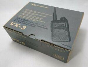 VX-3 Dualband Fm Handgehalten Transceiver Yaesu 144/430MHz Amateurfunk Ab Japan