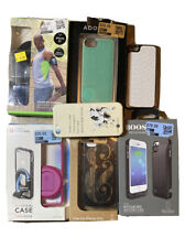 Apple iPhone 5 / 5s Phone Case Lot Of 7 -Agent, Boost, Belkin Arm Band & More