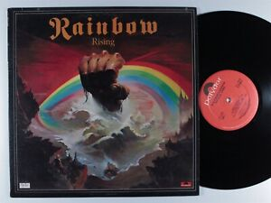 RAINBOW Rising POLYDOR LP VG+ **