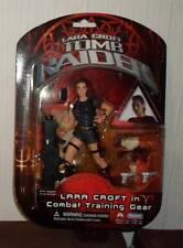 "EIDOS LARA CROFT COMBAT Training TOMB RAIDER playstation  5"" boxed figure movie"