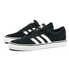 adidas Adiease Mens UK 8 EU 42 Black & White Skateboarding Skate Shoes Trainers