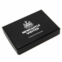 Newcastle United FC Chrome Business Card Holder - In Case - Ideal Gift
