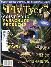Fly Tyer Magazine Spring 2000 Parachute Problems EX w/ML 111816jhe