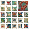 18inch Cushion Cover Conch Ocean Animal Linen Throw Couch Pillow Case Cover