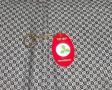 70s 80s TELEX COMPUTER PRODUCTS SHAMROCK KEY CHAIN MINT