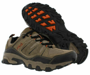 Fila MIDLAND Mens Brown Orange 241 Trail Hiking Sneaker Shoes