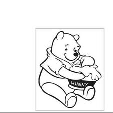 Winnie The Pooh Love Me Car Bumper Window Wall Sticker Decal Vinyl Laptop 89U