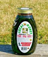 RAW HONEY BUCKWHEAT BLOSSOM 1LB / 454g 100% PURE RAW BUCKWHEAT BLOSSOM USA HONEY